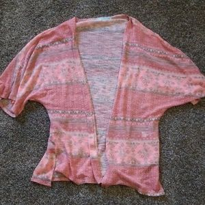 Coral pink blouse maurices